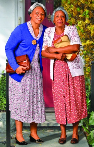 Donna Biscoe (left), Brenda Porter.