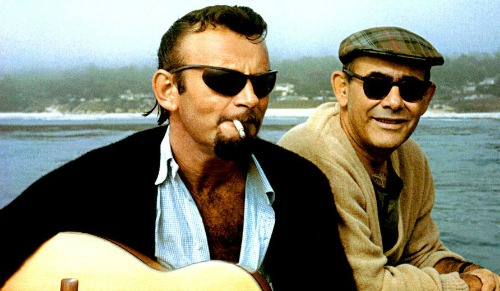 "A scene from ""Bang!"" Bert Berns is on the left."