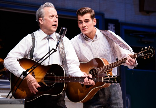 Radney Foster (left) and Zach Seabaugh as father and son. Photo: Greg Mooney