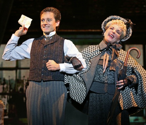 A love triangle is just one complication the merry murderer must navigate. Photo: Broadway in Atlanta
