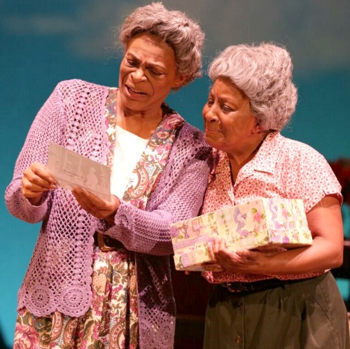 Donna Biscoe (left) as Sadie Delany, Brenda Porter as Bessie. Photo: Dan Carmody/Studio7