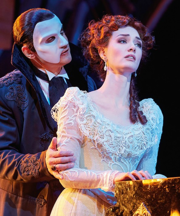 The Phantom and Christine Daae meet again at Coney Island.