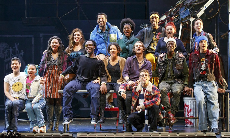 "The touring company of ""Rent."" How many characters can you pick out? Photo: Broadway in Atlanta"