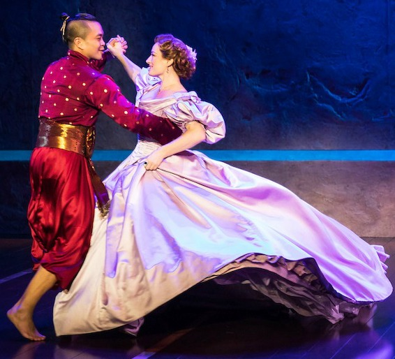 "Anna and the King do the polka during ""Shall We Dance,"" the climax of Act 2."