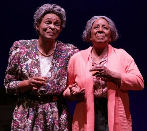 Donna Biscoe (left) and Brenda Porter. Photo: Dan Carmody/Studio7