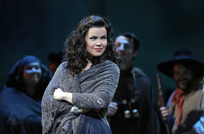 Soprano Zanda Svede, considered a rising star in the opera world, will sing the title role of Carmen for Atlanta Opera next. She previously did the role for the Lyric Opera of Kansas City. Photo: Kansas City Star