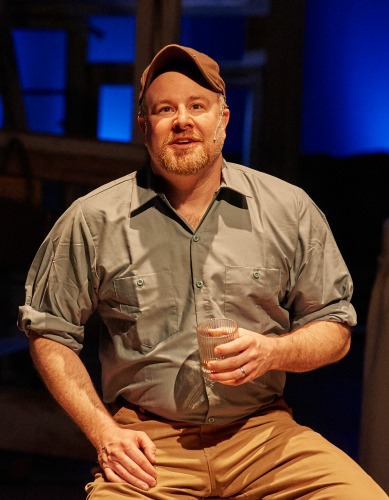 Matt Lewis as Francesca's husband. Photo: Chris Bartelski