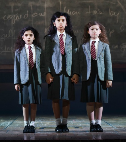 The Matildas (from left) are Jenna Weir, Gabby Gutierrez and Jaime MacLean. Photo: Tim Trumble
