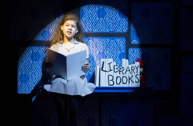 Jaime MacLean as Matilda. Photo: Cylia von Tiedemann