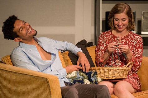 Benjamin DeWitt Sims, Maggie Birgel. Photo: Jerry Siegel Photography
