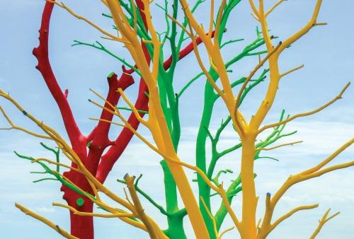 """One view of """"The Curious Garden"""" outdoor art exhibition. Photo: Atlanta Botanical Garden"""