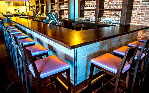 The bar at O-Ku Sushi Atlanta. Photo: Jonathan Phillips