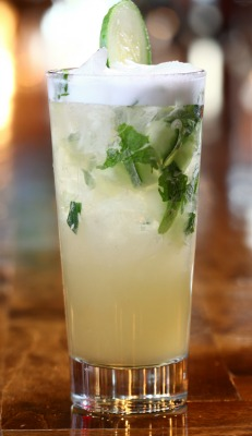 The Garden Tonic at Salt Factory Pub. Photo: Salt Factory Pub