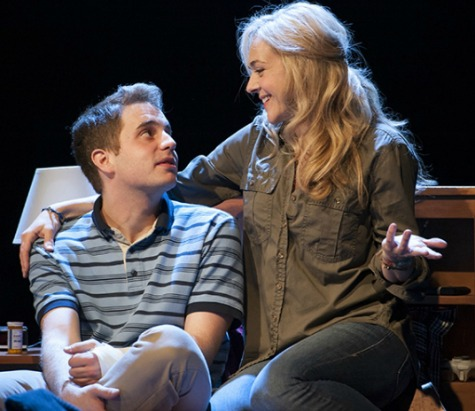 "Tony nominee Ben Platt and Rachel Bay Jones in ""Dear Evan Hansen."""
