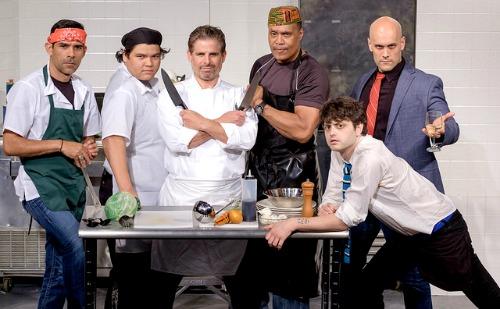 Tony Guerrero (from left), Orlando Carbajal Rebollar, Brian Kurlander, LaParee Young, Jeremiah Parker Hobbs and Brad Brinkley. Photo: