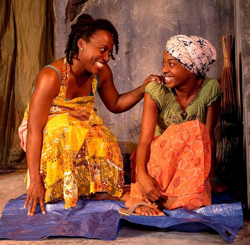 Charity Jordan (left), Asha Duniani. Photo: Jerry Siegel
