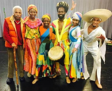 """""""The Dancing Granny"""" company. Photo: Alliance Theatre"""