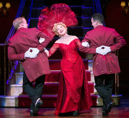 """Bette Midler in """"Hello, Dolly!)"""" Photo: Sarah Krulwich/The New York Times"""