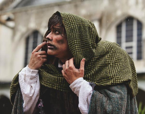 Haden Rider as Quasimodo. Photo: Chris Bartelski