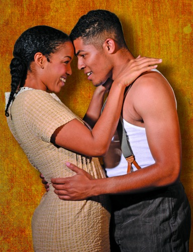 Ayana Reed, Christian Magby. Photo: Greg Mooney