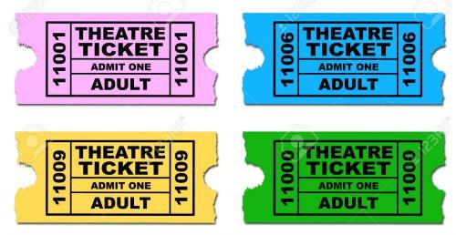 theater tix color