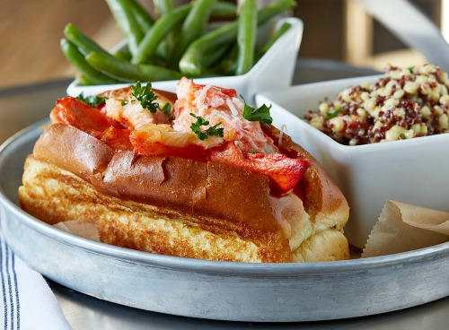 The Big Ketch will be there, will you? This is its lobster roll.