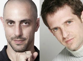 Niv Sheinfeld (left), Oren Laor