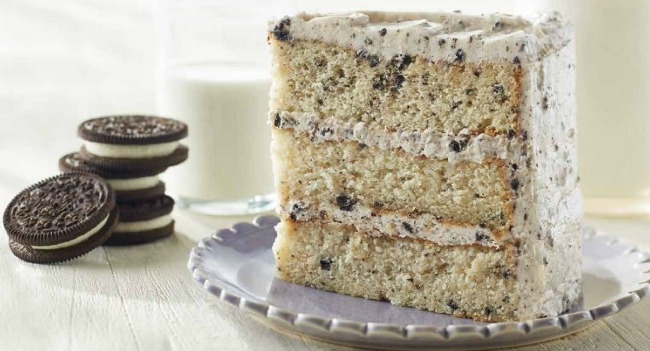 Dare we hope for the cookies and cream layer from Piece of Cake?