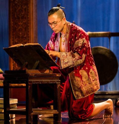Jose Llana as the King of Siam. Photo: Matthew Murphy