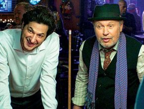"Ben Schwartz and Billy Crystal in ""Standing Up, Falling Down"""