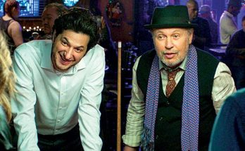 """Ben Schwartz and Billy Crystal in """"Standing Up, Falling Down"""""""